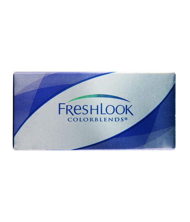 Ciba Vision, Freshlook Colourblends (2 lens/box) - Green, Amethyst, Gemstone Green