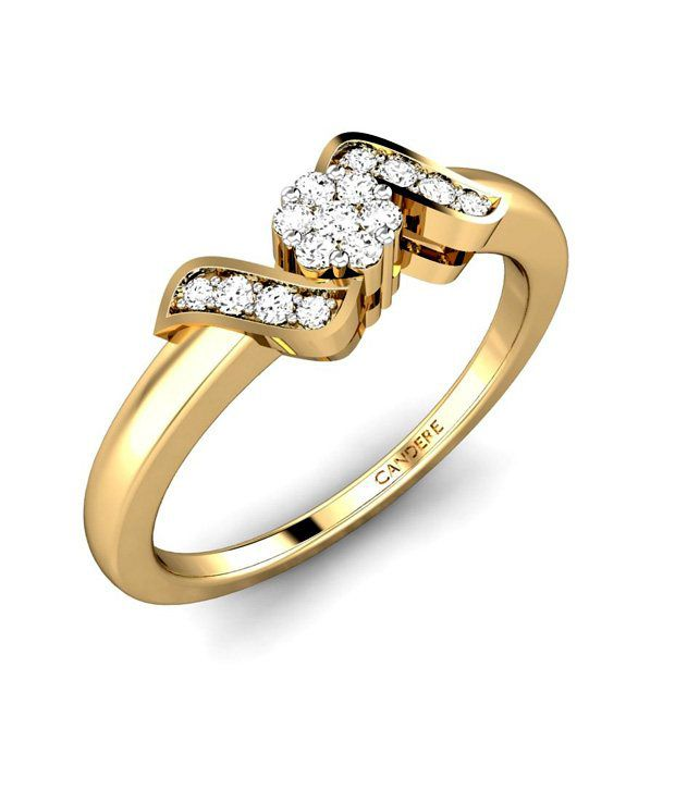 Candere Gold & Diamond The Springfield Ring