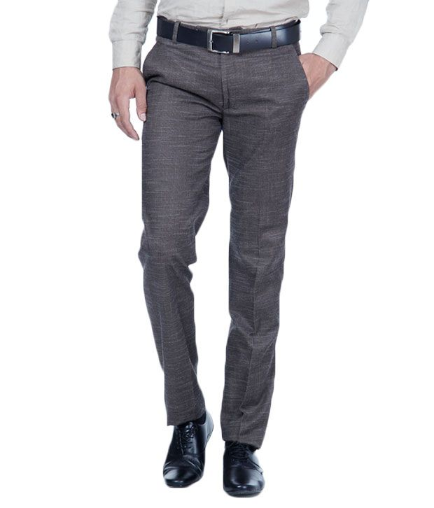 Harvest Brown  Linen Trousers