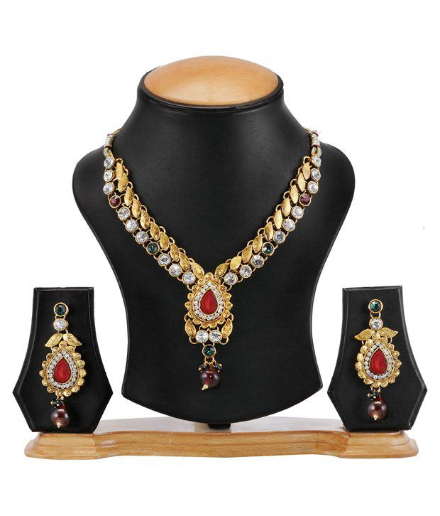 Pari Multicloured Festive Fashion Necklace Set
