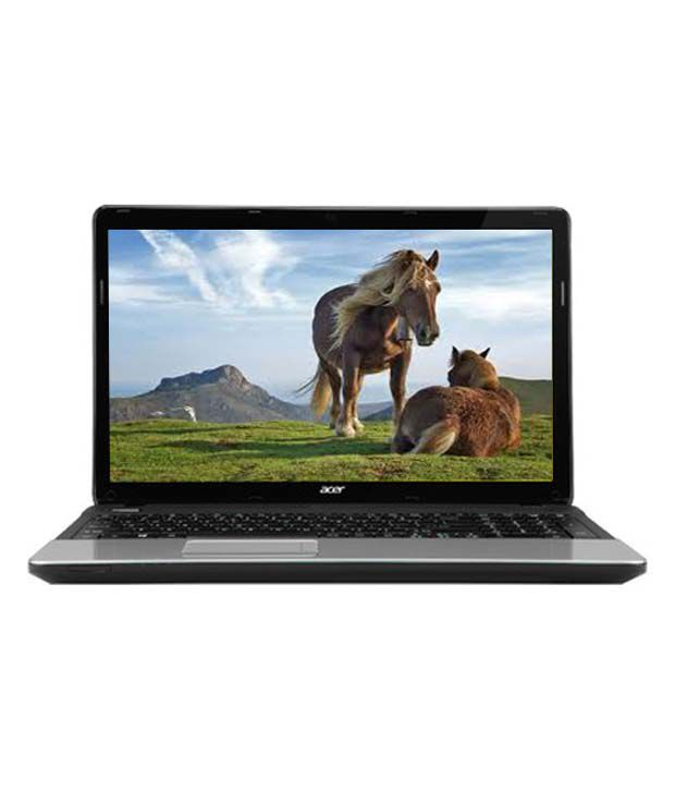 Acer Aspire E1-571 Laptop (NX.M09SI.030) (Intel Core i3 2348M- 4GB RAM- 500GB HDD- 39.62cm (15.6)- Win8) (Glossy Black)