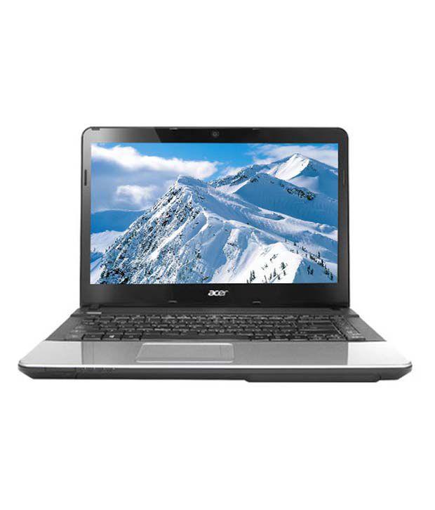 Acer Aspire E1-431 Laptop (NX.M0RSI.013) (Intel Pentium B960- 4GB RAM- 500GB HDD- 35.56cm (14)- Linux) (Glossy Black)