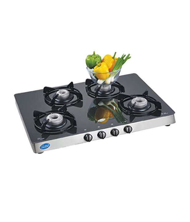 Glen Gl 1048 Gt Ai 4 Burner Auto Gas Stove Price In India Online On Snapdeal