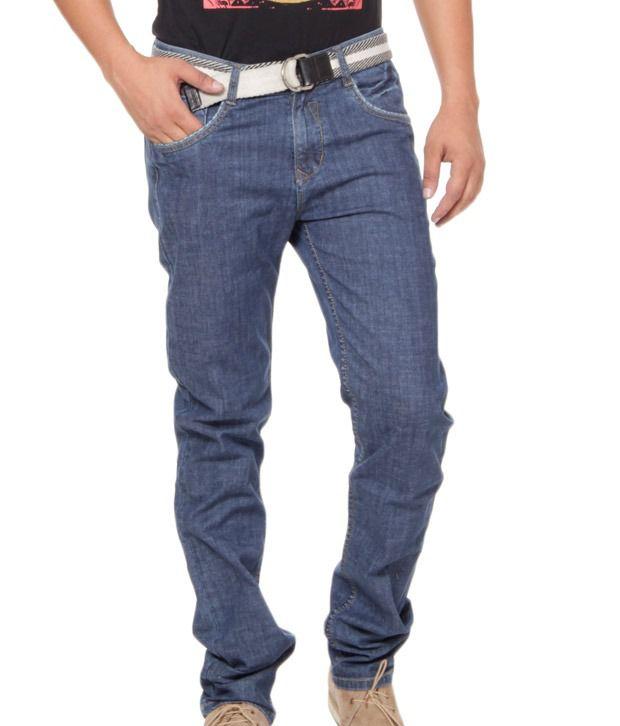 Fever Light Blue Basics Stretchable Jeans