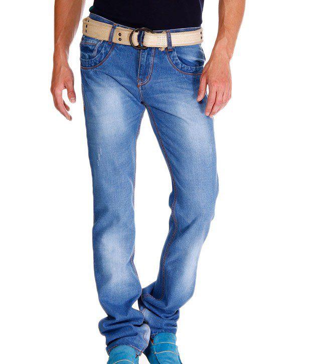 Jogur Elegant Light Blue Faded   Jeans