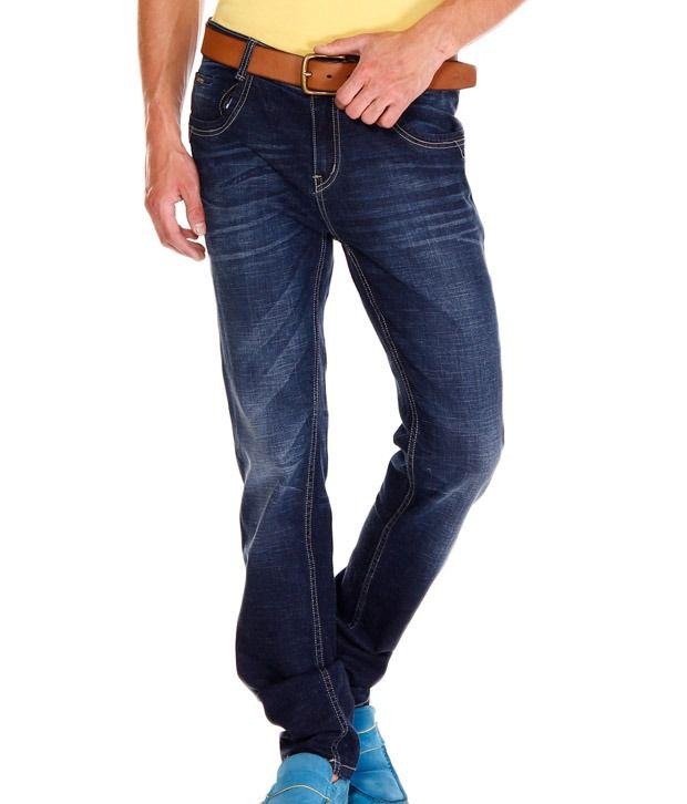 Jogur Deep Blue Faded Jeans