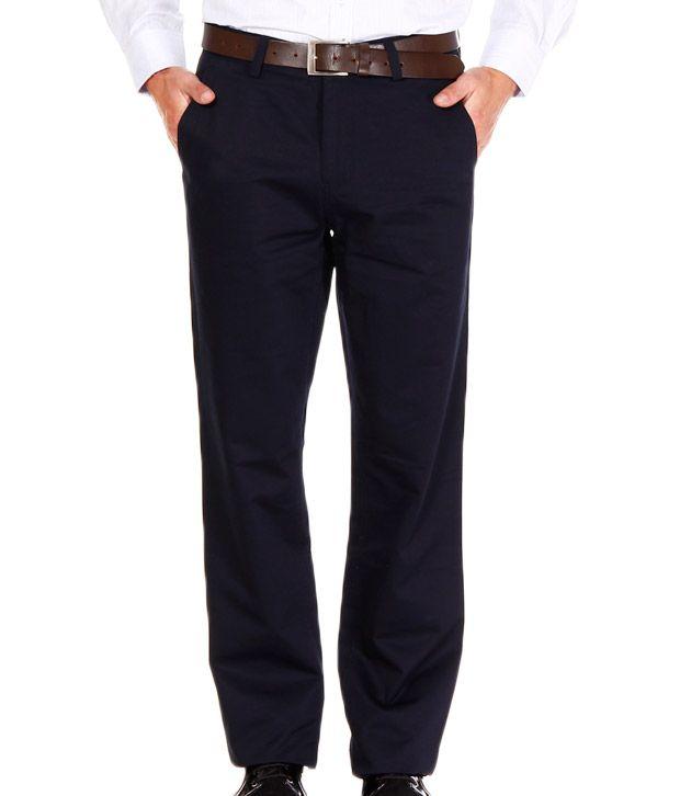 Jogur Navy Blue Trouser