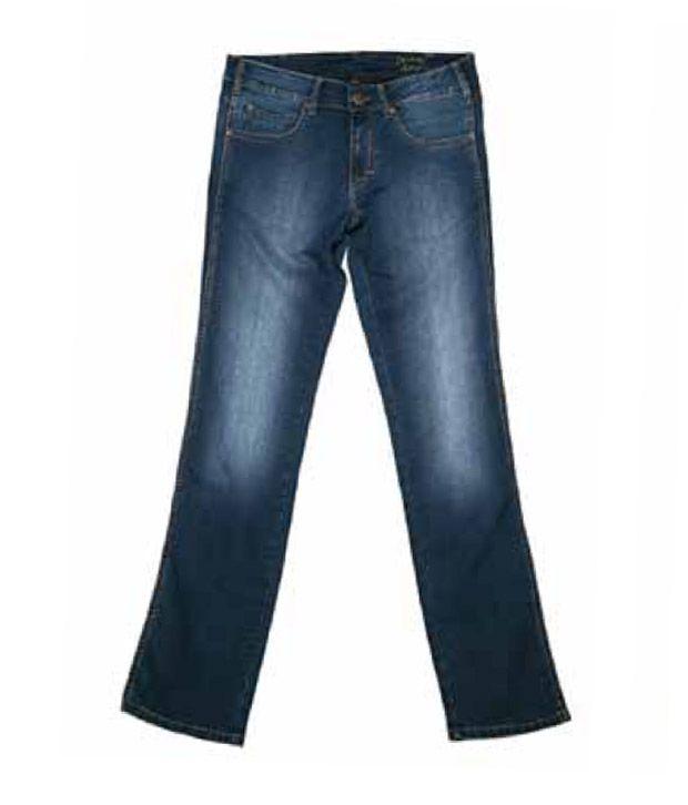 Wrangler Marble Blue Jeans