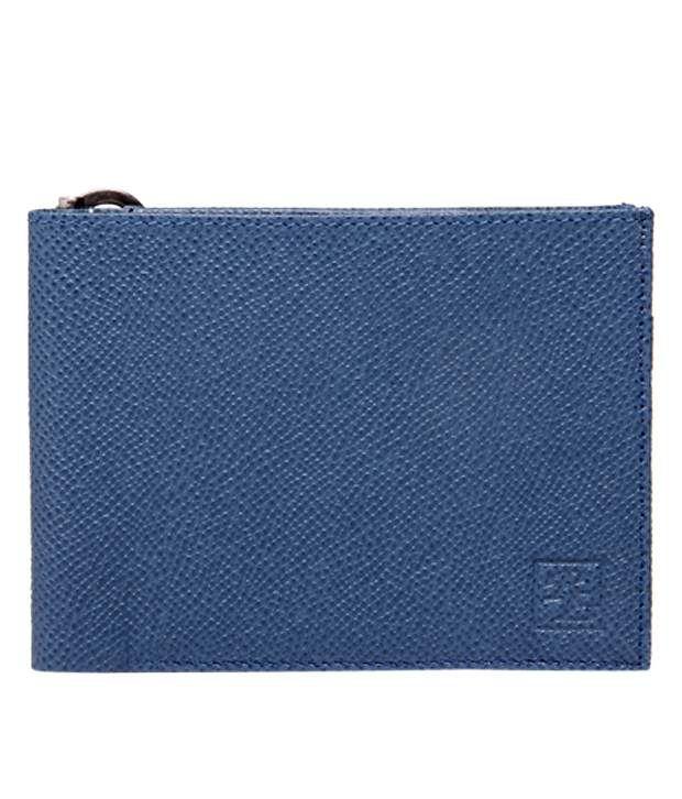 Walletsnbags Blue Money Clip Wallet