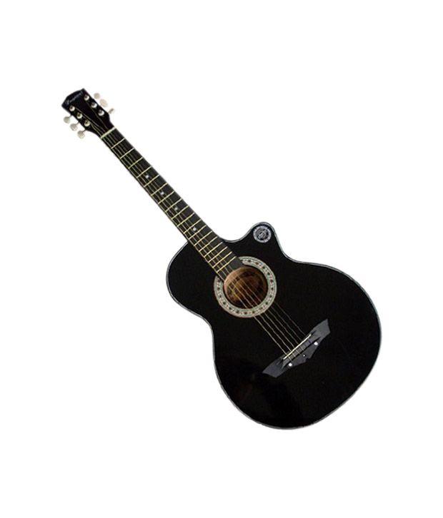 lanjian acoustic guitar black buy lanjian acoustic guitar black online at best prices in india. Black Bedroom Furniture Sets. Home Design Ideas