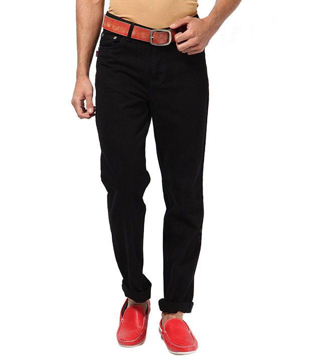 Phoenix Classy Black Jeans