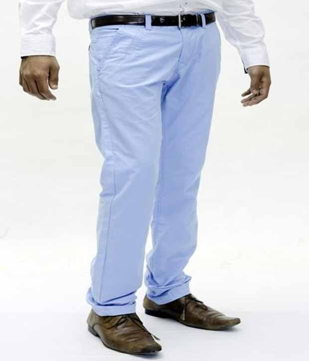 True Faith Sky Blue Spring Chinos