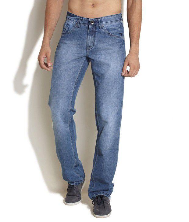 Barrel Blue Light Wash Jeans