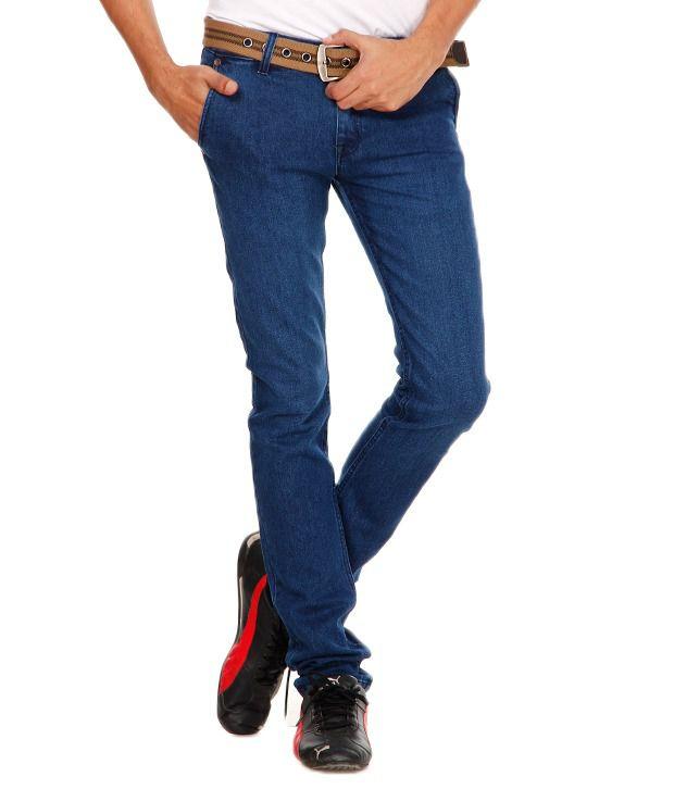 Wildlion Blue Classic Jeans