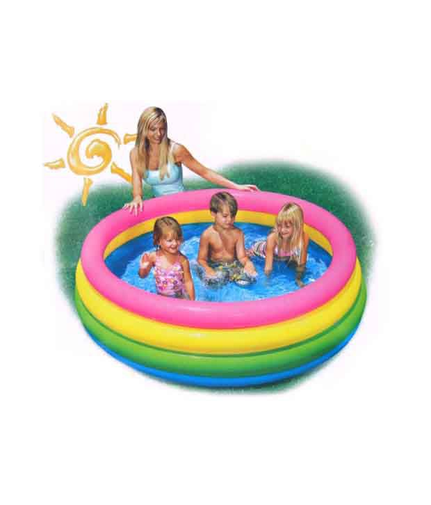 Inflatable swimming pool 3 ft buy online at best price for Best rated inflatable swimming pool