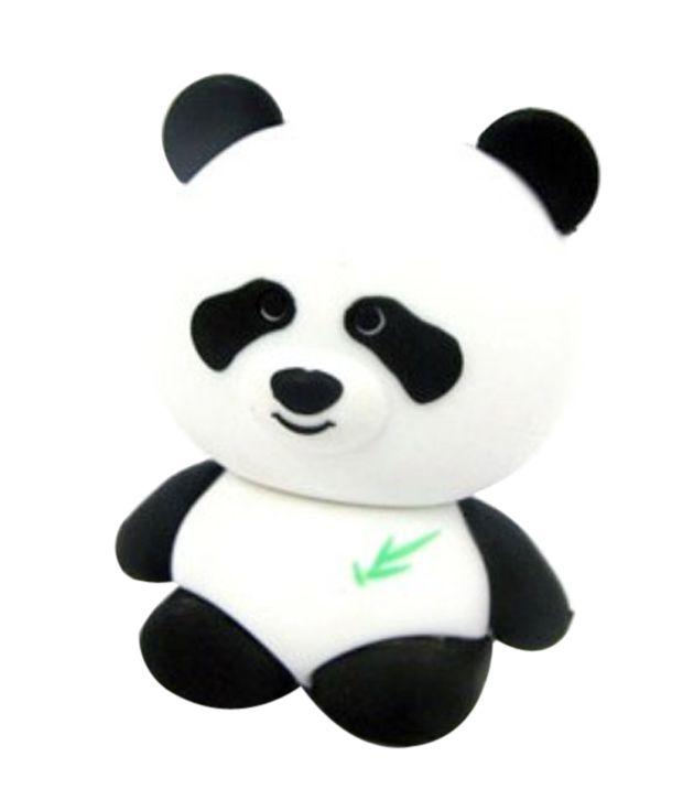 Smiledrive 8GB Cute Panda Shaped Fancy Designer USB Pendrive