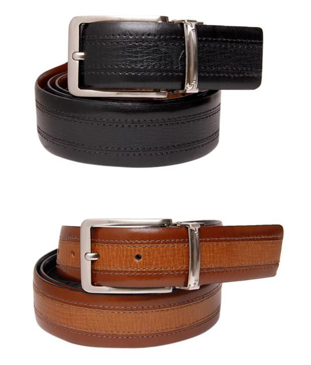 Bulchee Splendid Black-Brown Reversible Belt