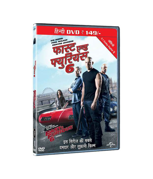 fast furious 6 hindi dvd buy online at best price in india rh snapdeal com