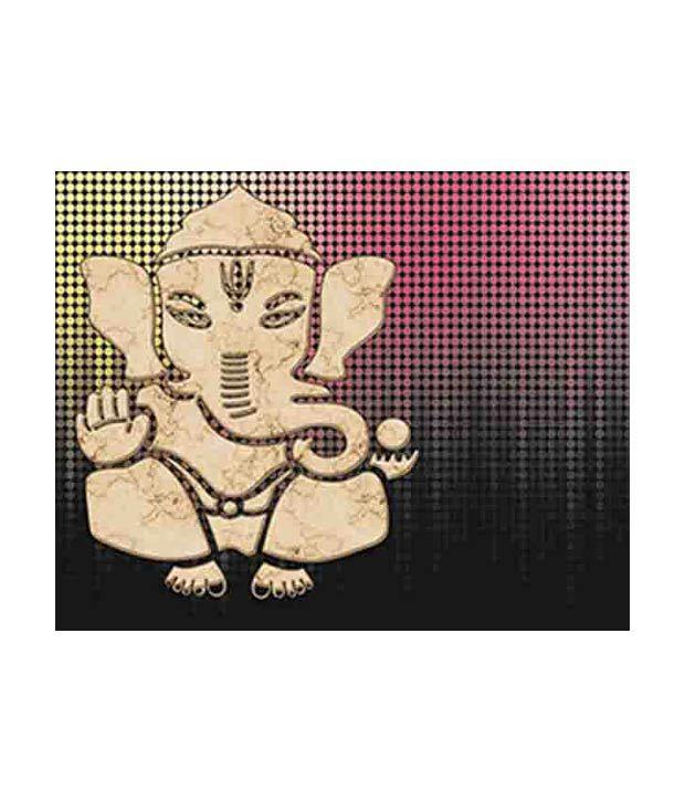 Azure Decor Canvas painting print - Ganesha SD23- 20