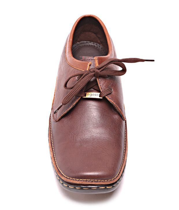 17c9e5d11603 EGOSS Brown Daily Shoes - Buy EGOSS Brown Daily Shoes Online at Best ...