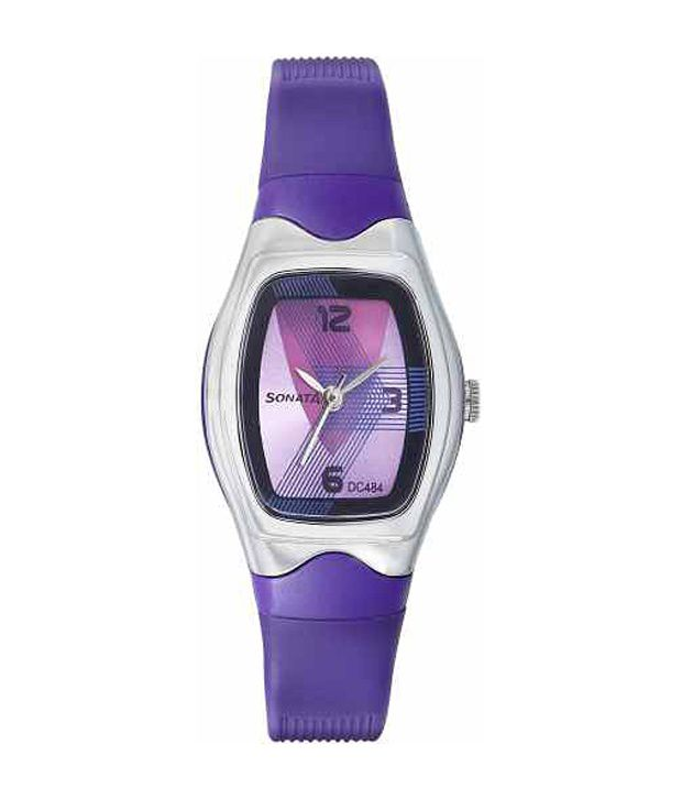Sonata 8989PP01 Women's Watch