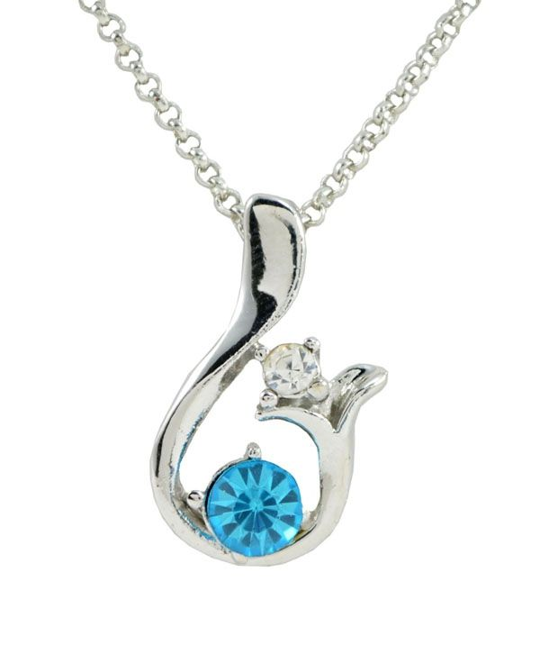 Diovanni Enchanting Melody In Sea Blue Necklace Set