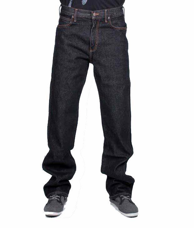 Wrangler Black Mix Denim Neuman Jeans