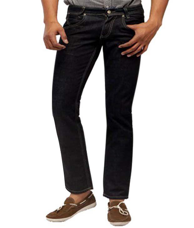 Wrangler Stylish Back Black Jean Neuman Jeans