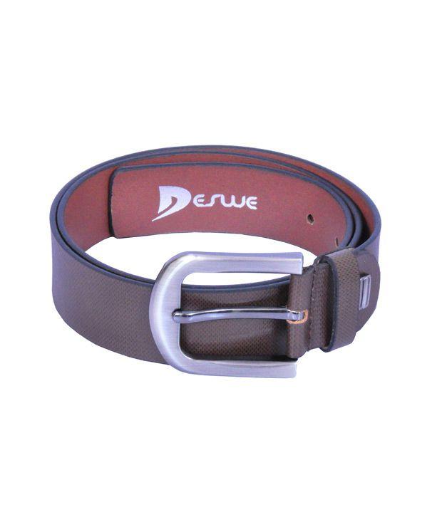 Deswe - Carlos 2 Textured Leather Belt