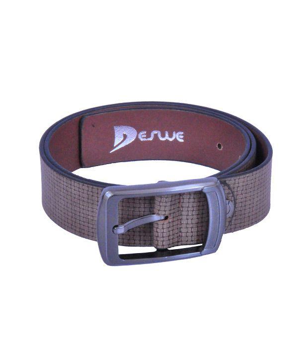Deswe - Carlos 3 Semi formal Leather Belt