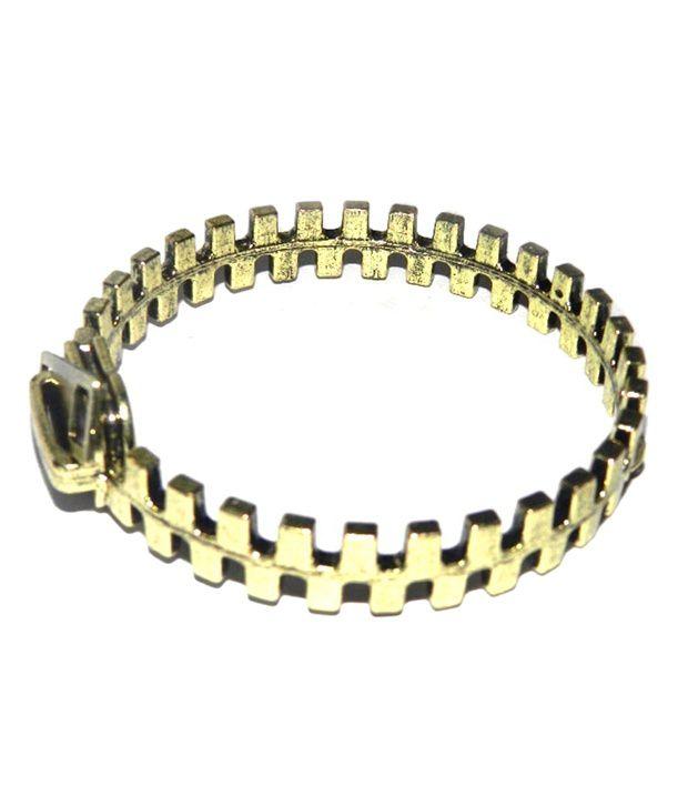 Crunchy Fashion Zipper Bracelet