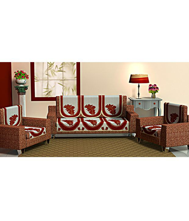 Coral premium quality 5 seater sofa cover set buy coral for Where to buy good quality sofa