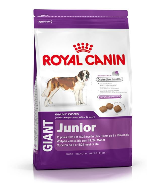 royal canin chicken based giant junior food 15 kg