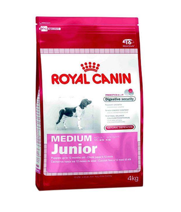 royal canin medium junior 4 kg buy royal canin medium. Black Bedroom Furniture Sets. Home Design Ideas