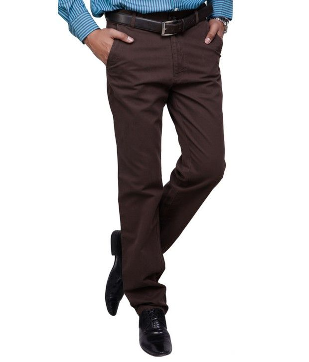 United Polo Club Brown Trousers