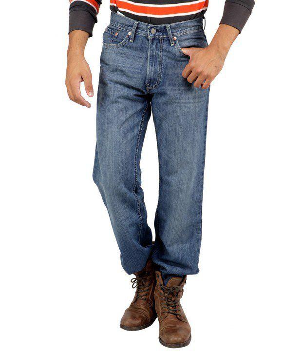 Levis Blue Basic Jeans