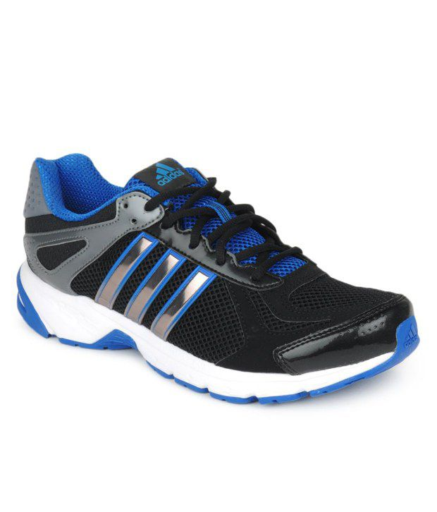 38918b6b72d Adidas Duramo 5 M Black   Blue Running Shoes - Buy Adidas Duramo 5 M Black    Blue Running Shoes Online at Best Prices in India on Snapdeal