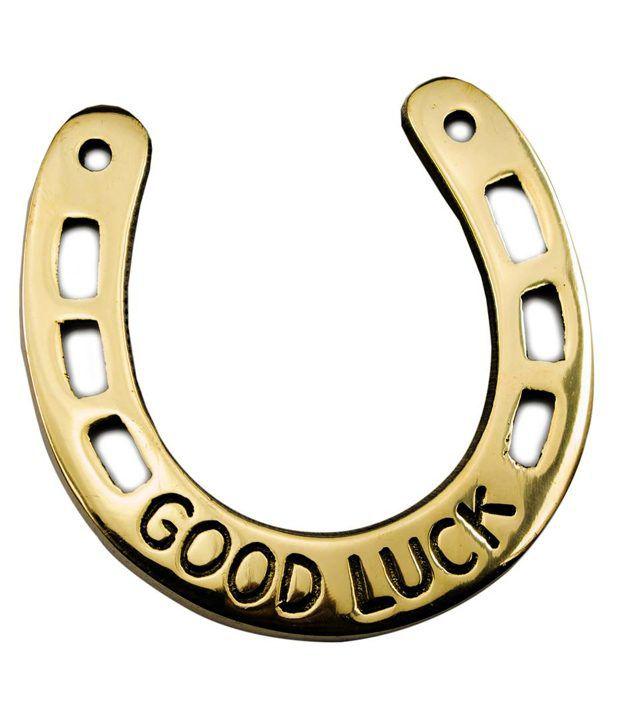 Popli Brass Horse Shoe Naal Good Luck Fengshui Buy Popli