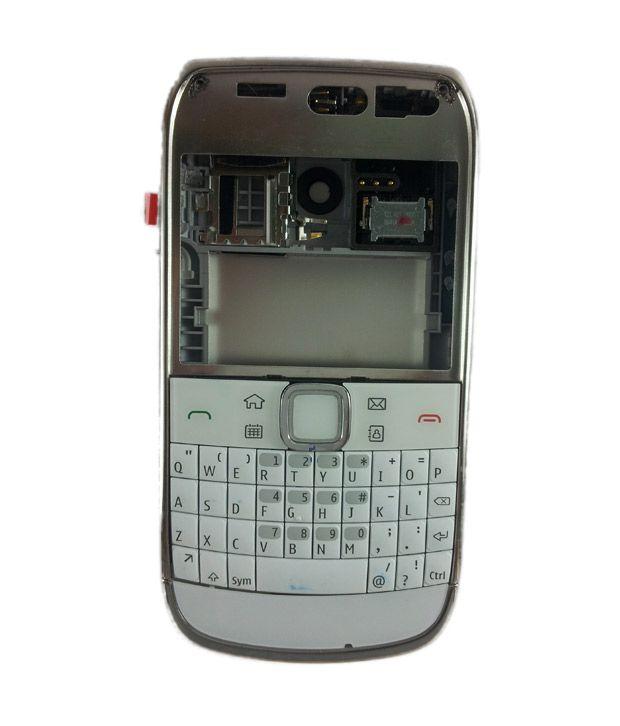 on sale c4b66 f93aa Original Full Housing for Nokia E6-00 - White