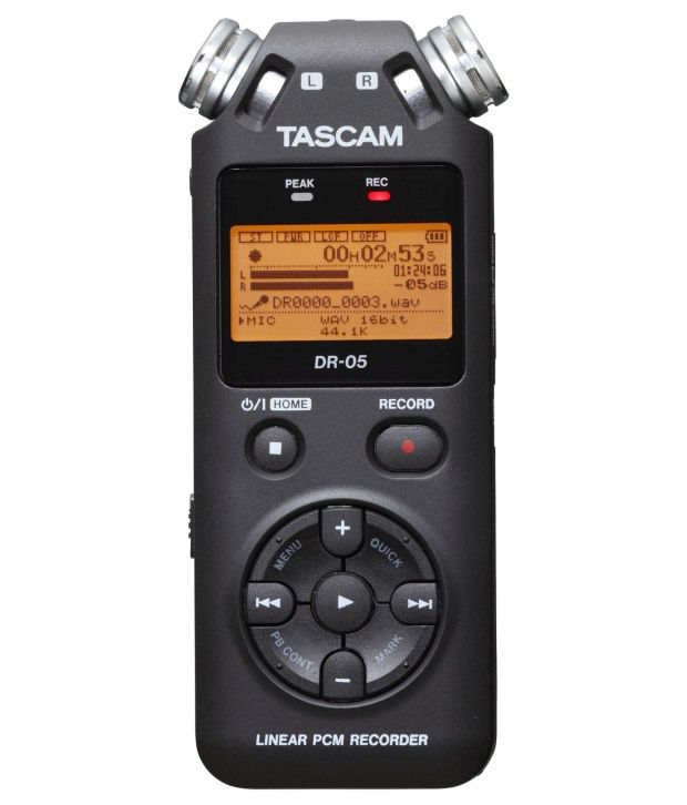 tascam dr 05 stereo handheld audio recorder w omnidirectional microphones buy tascam dr 05. Black Bedroom Furniture Sets. Home Design Ideas
