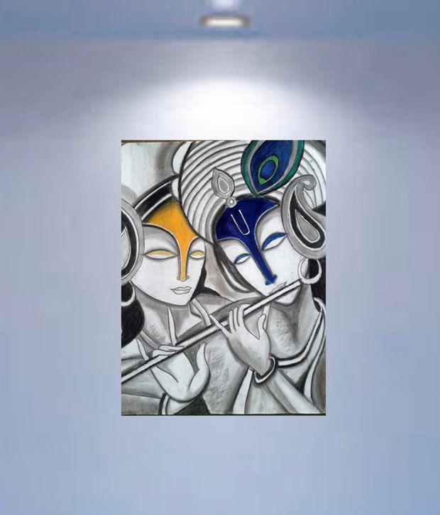 ankit digital painting on radha krishna abstract paintings