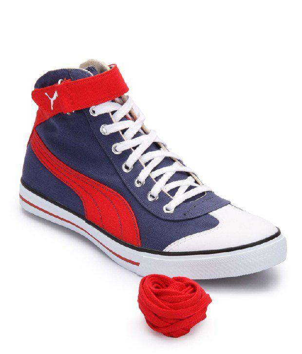 e70d982a53314d Puma Blue Canvas Shoes Art P35651202 - Buy Puma Blue Canvas Shoes ...