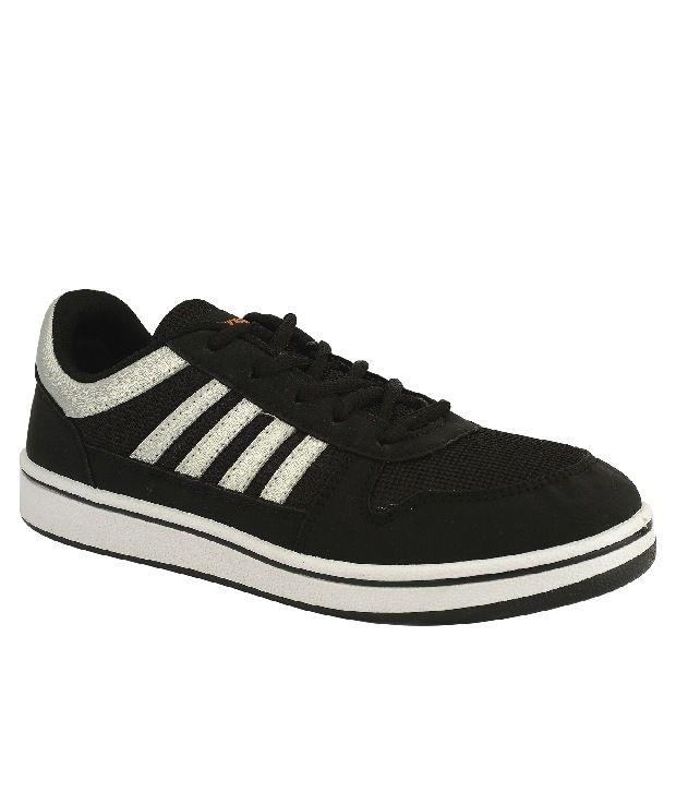 Sparx Black Sneaker Shoes