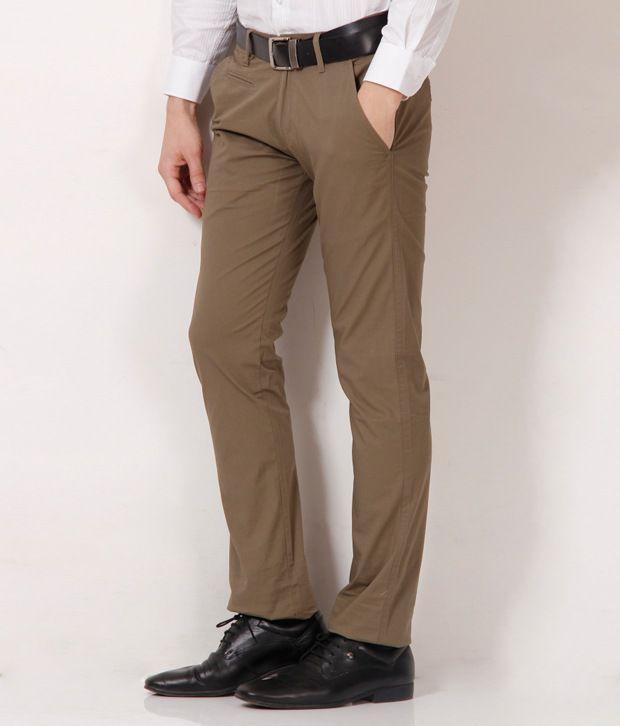 Fever Classic Khaki Trouser