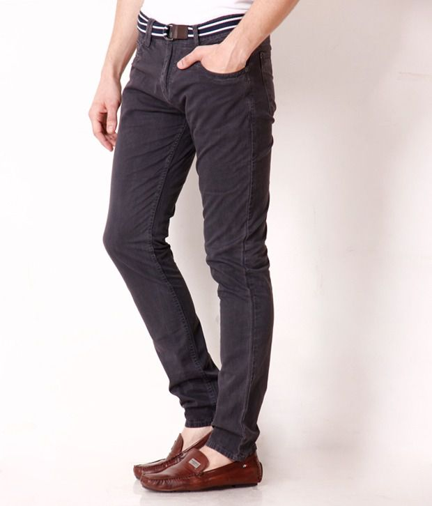 Jogur Dark Grey Slim Fit  Chinos