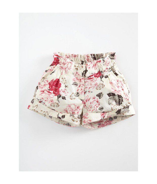 UCB Kids Floral Print Short Pants For Kids