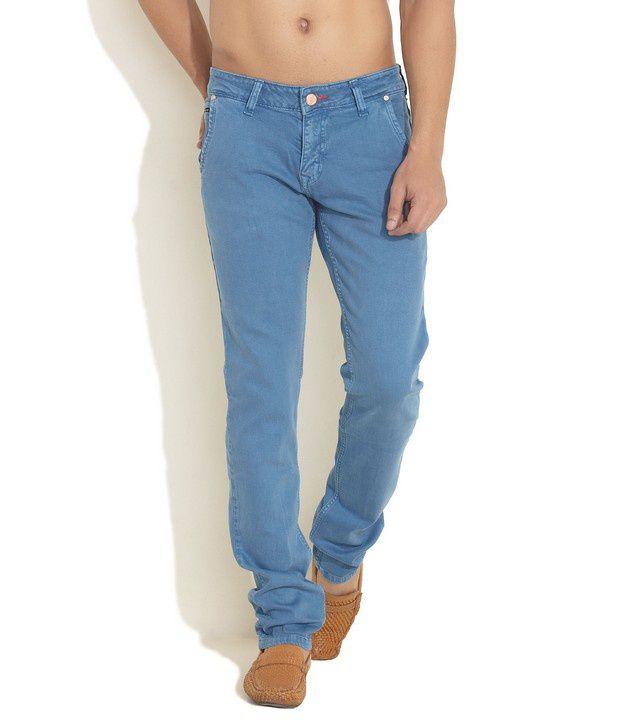 Yellow Jeans Aqua Narrow Fit Coloured Denims