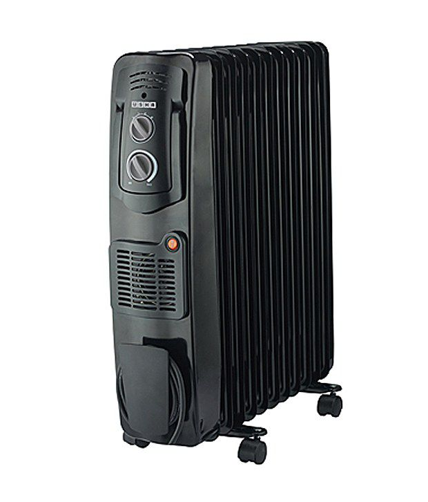 Usha OFR3209-FB Fan Oil Filled Room Heater