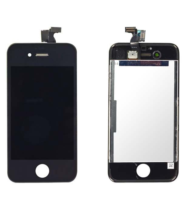 dd904c62b2b Original Touch Screen Digitizer + LCD Display for Apple iPhone 4 - Black -  Mobile Spare Parts Online at Low Prices | Snapdeal India
