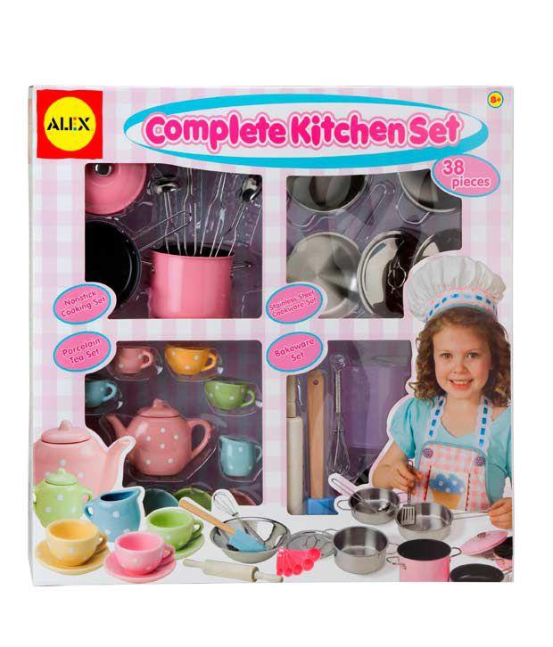 Kitchen Set Toys Price: Alex Toys Complete Kitchen Set